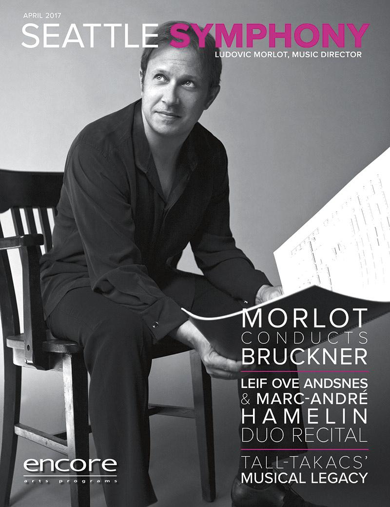Seattle Symphony April 2017 cover art