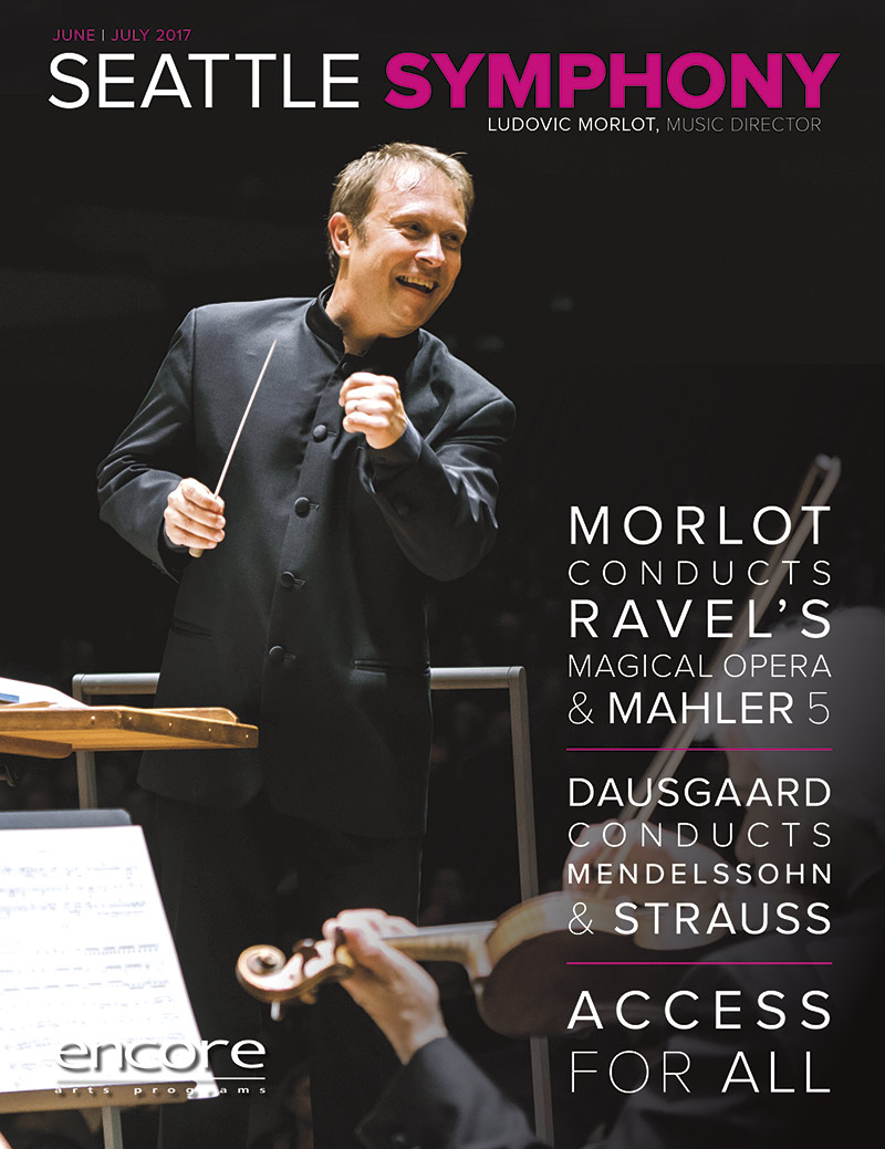 June July 2017 at Seattle Symphony cover art