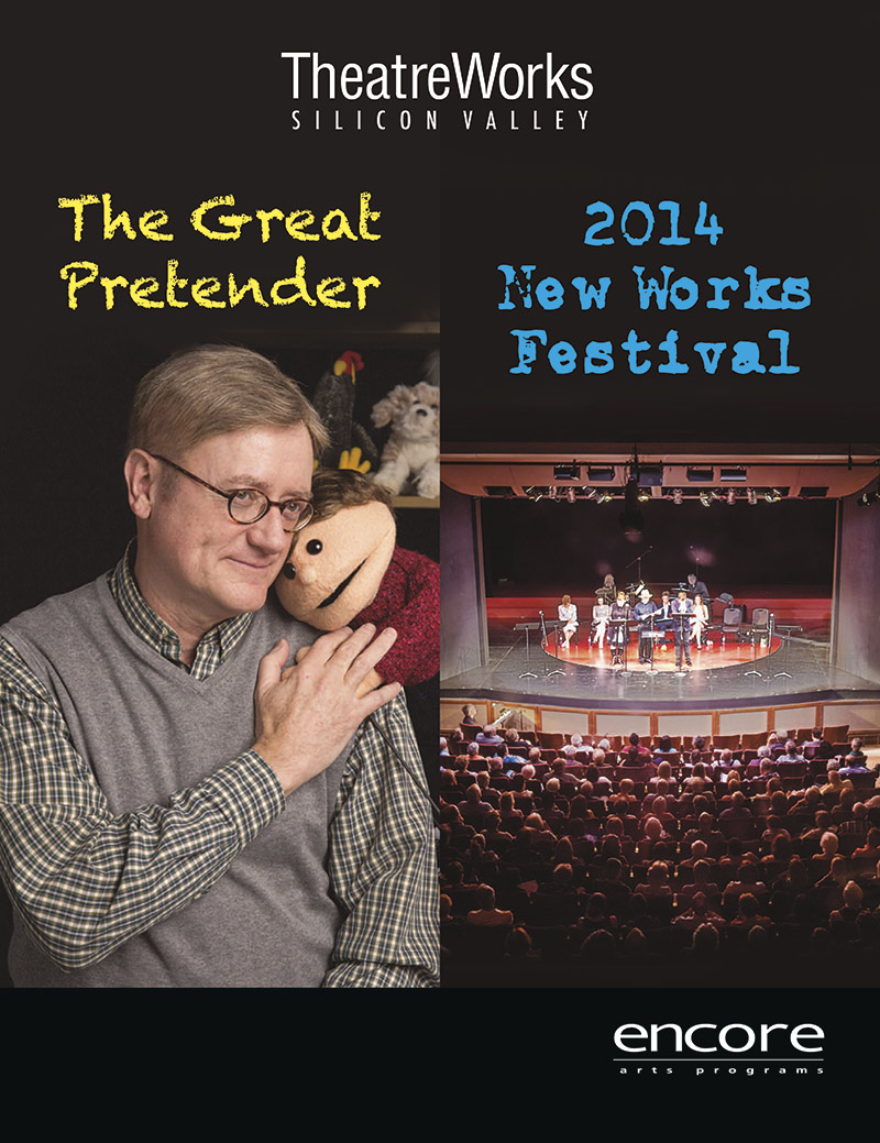 cover art for the great pretender at Theatreworks 2014