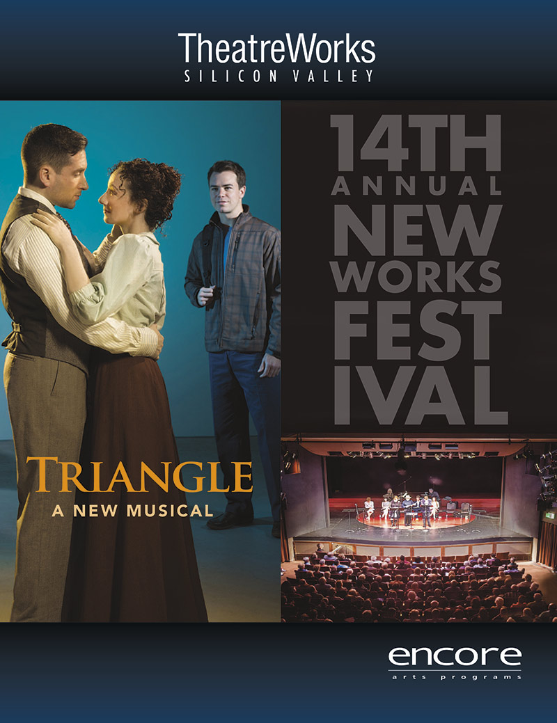 cover art for Triangle at Theatreworks 2015