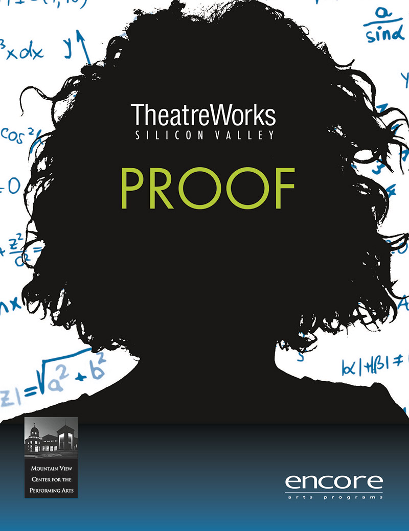 cover art for Proof at Theatreworks 2015