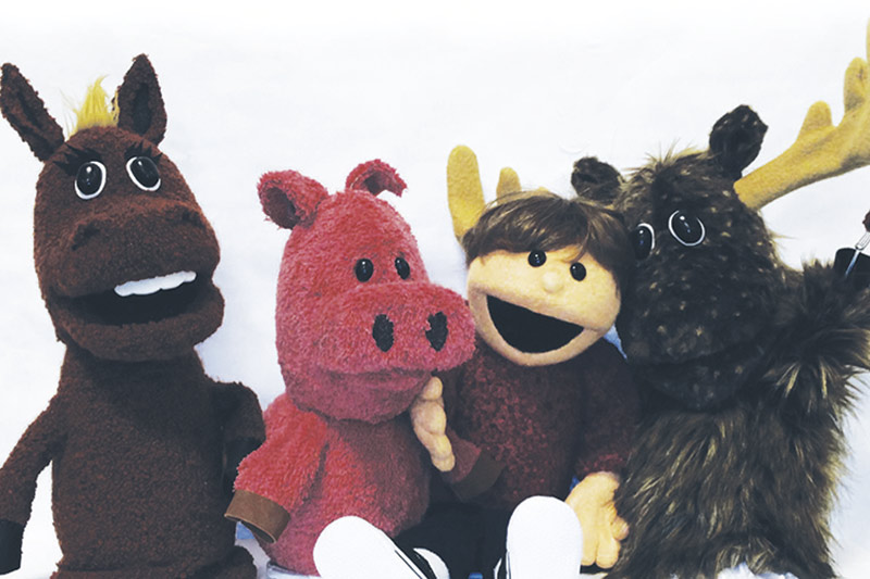 photo of puppets from the great pretender