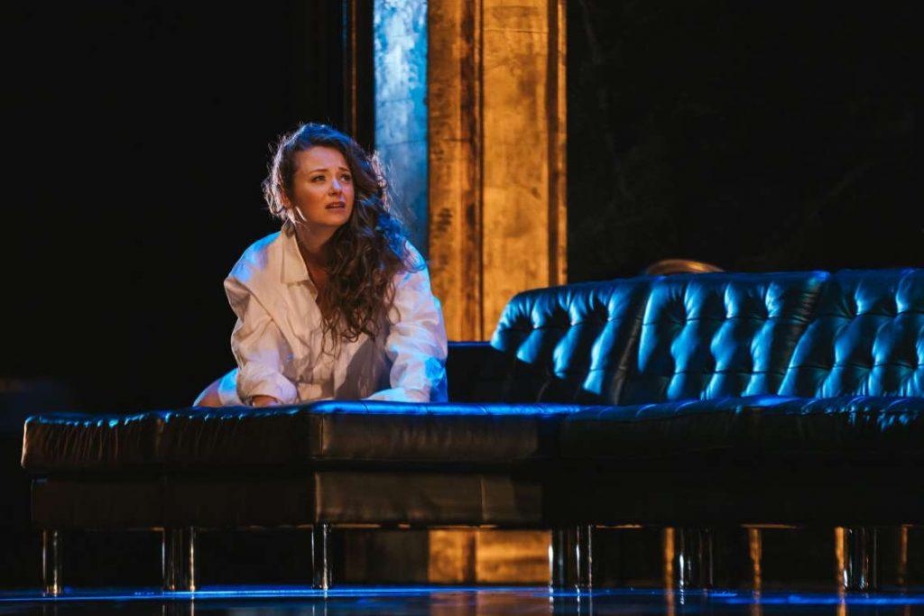 Madison Leonard in Seattle Opera's 'Rigoletto.'
