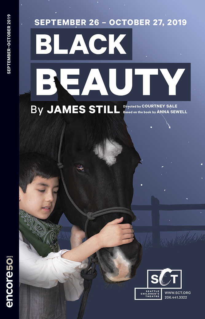 Cover for Black Beauty at Seattle Children's Theatre 2019.