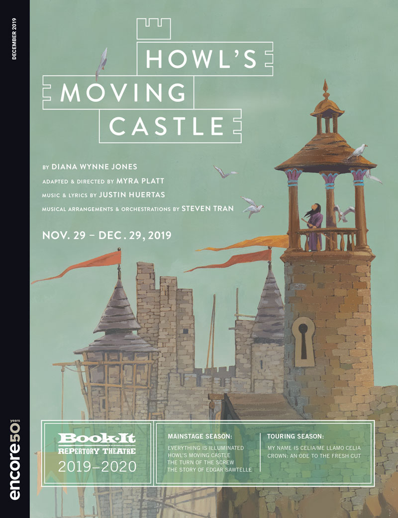 BIR029 Howls Moving Castle 2019