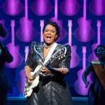 Cast of 'Shout, Sister, Shout!' at Seattle Rep.