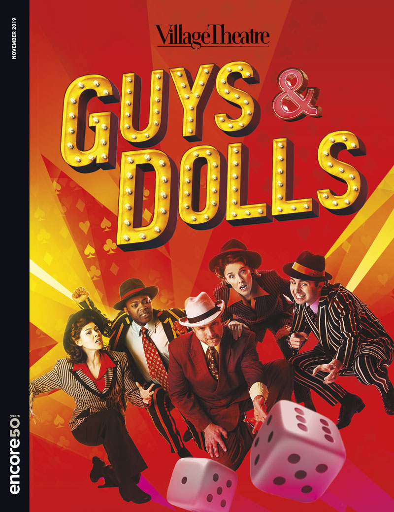 Village Theatre Guys and Dolls 2019