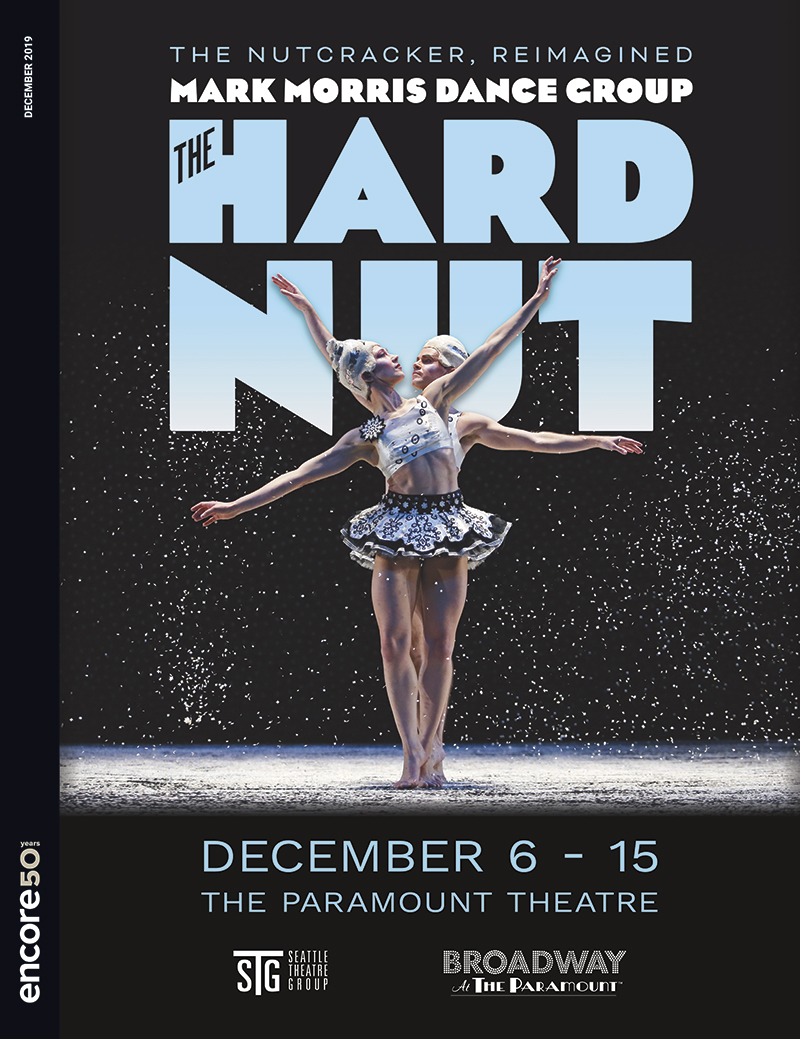 Cover for The Hard Nut at Seattle Theatre Group 2019.