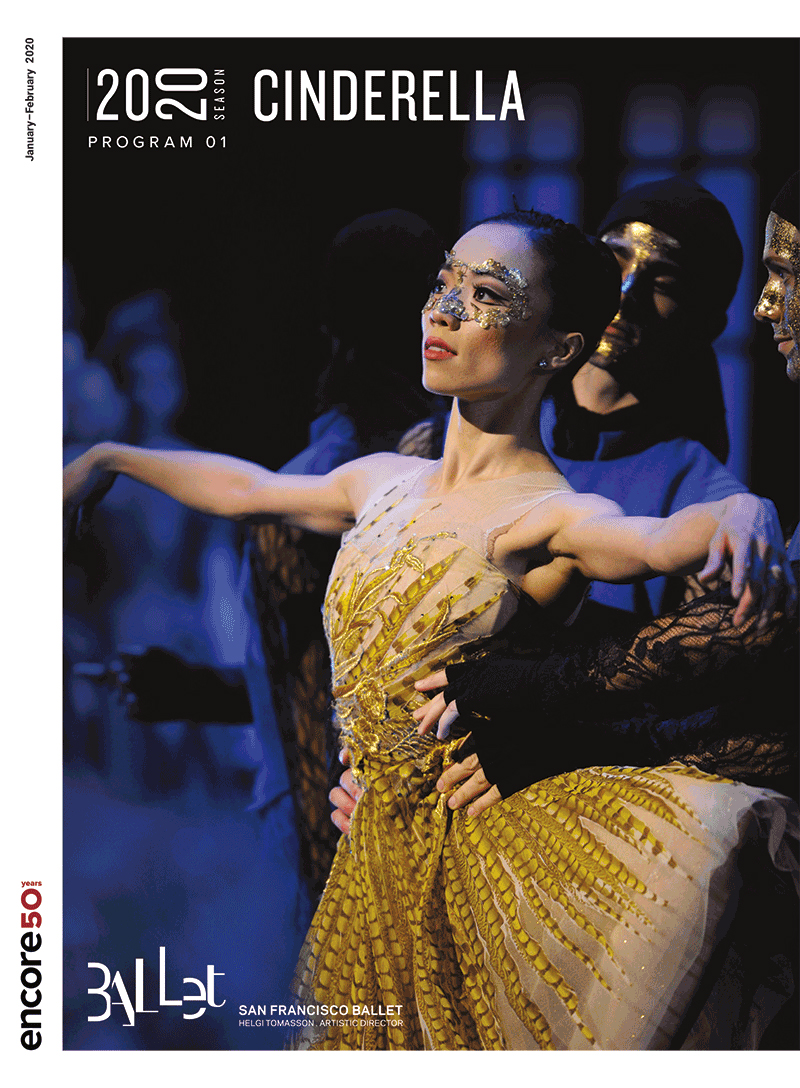 Cover for Cinderella 2020 at San Francisco Ballet