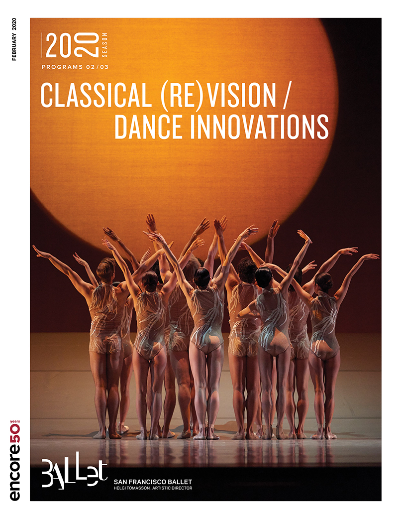 cover art for Classical Revisions and Dnace Innovations at San Francisco Ballet 2020.