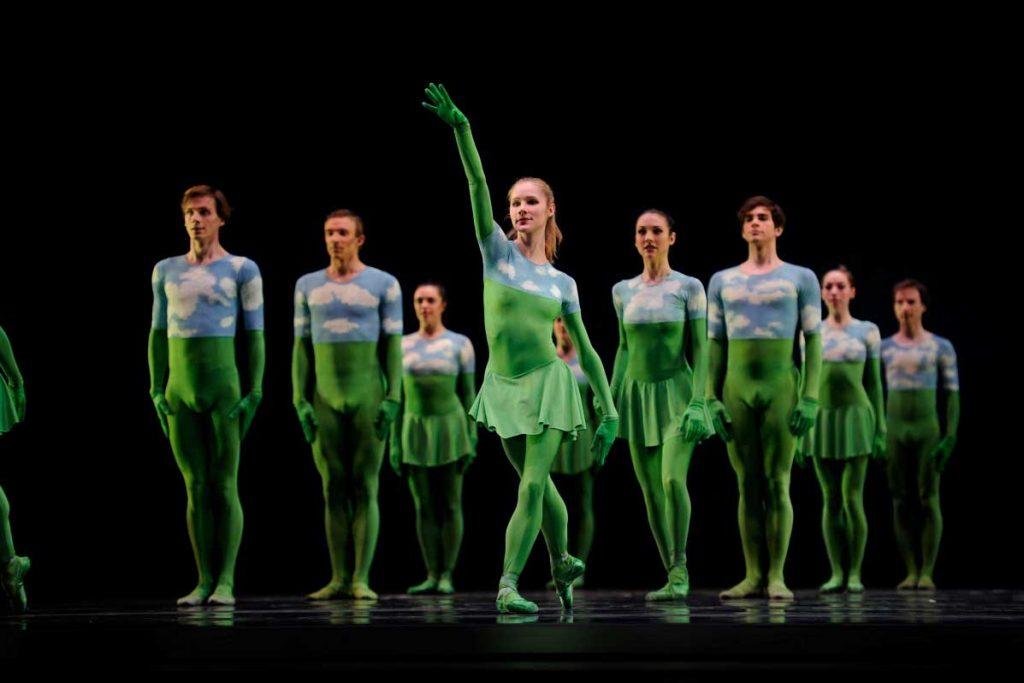 San Francisco Ballet in Morris' 'Sandpaper Ballet' in 2010.