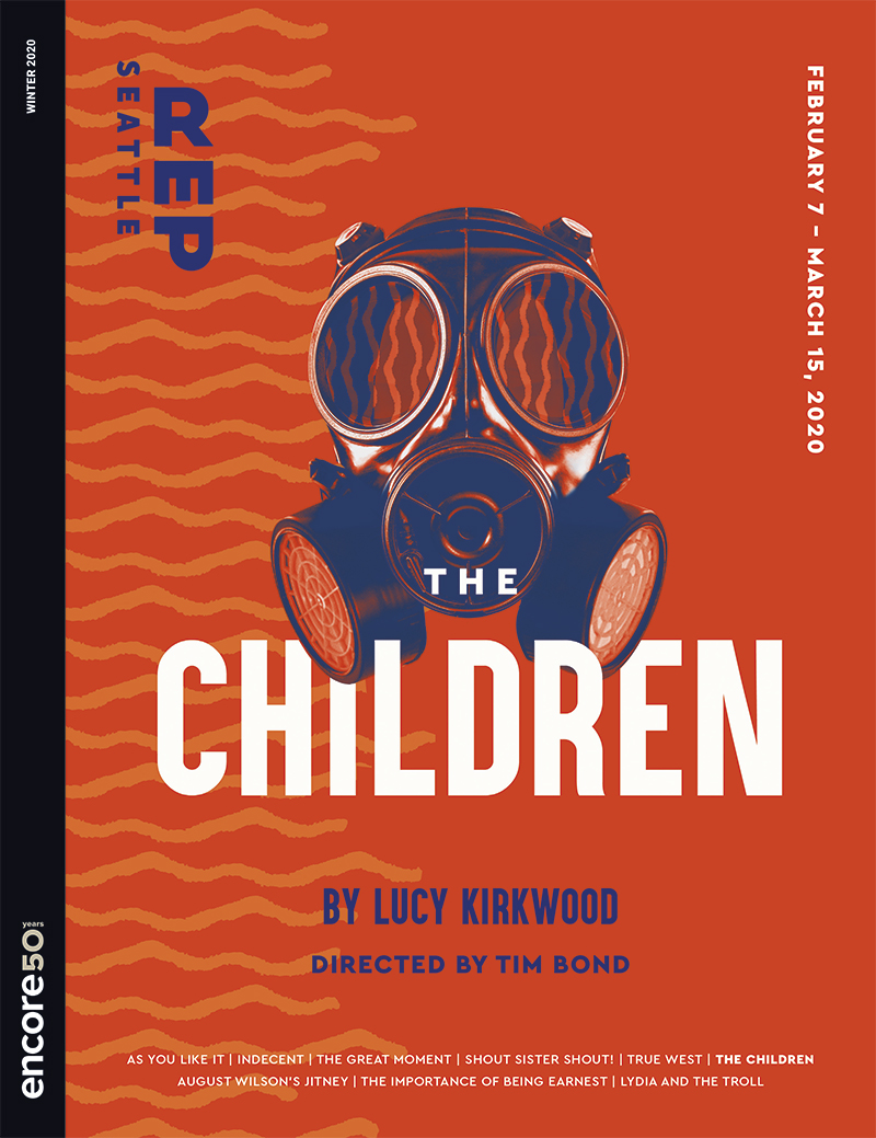 Cover for the Children at Seattle Rep