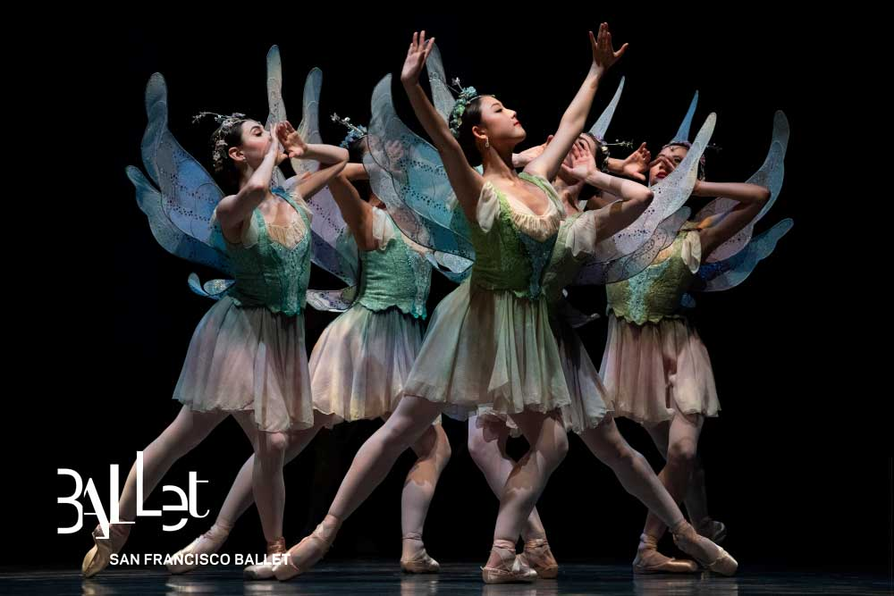 San Francisco Ballet in Balanchine's A Midsummer Night's Dream