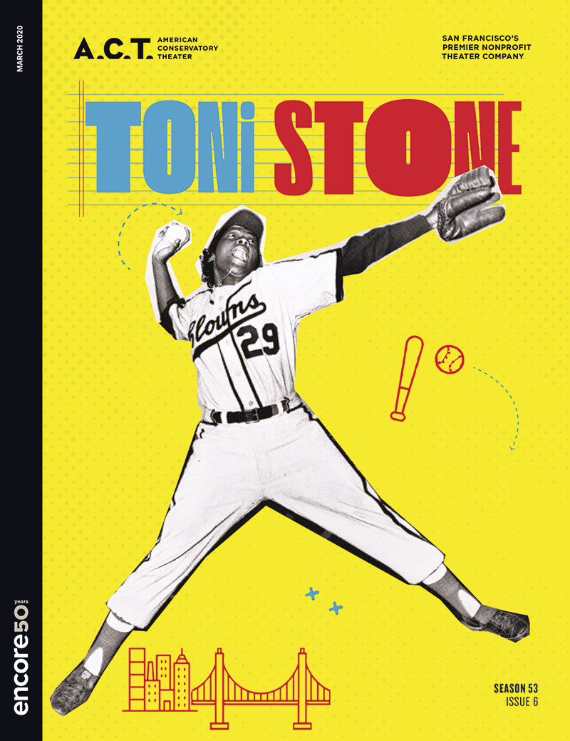 cover image for Toni Stone at ACT-SF 2020.