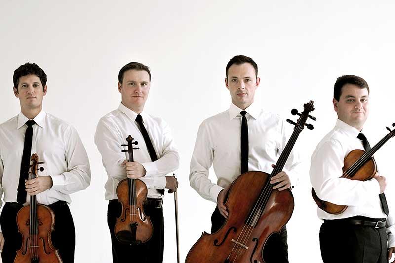 Jerusalem Quartet with instruments