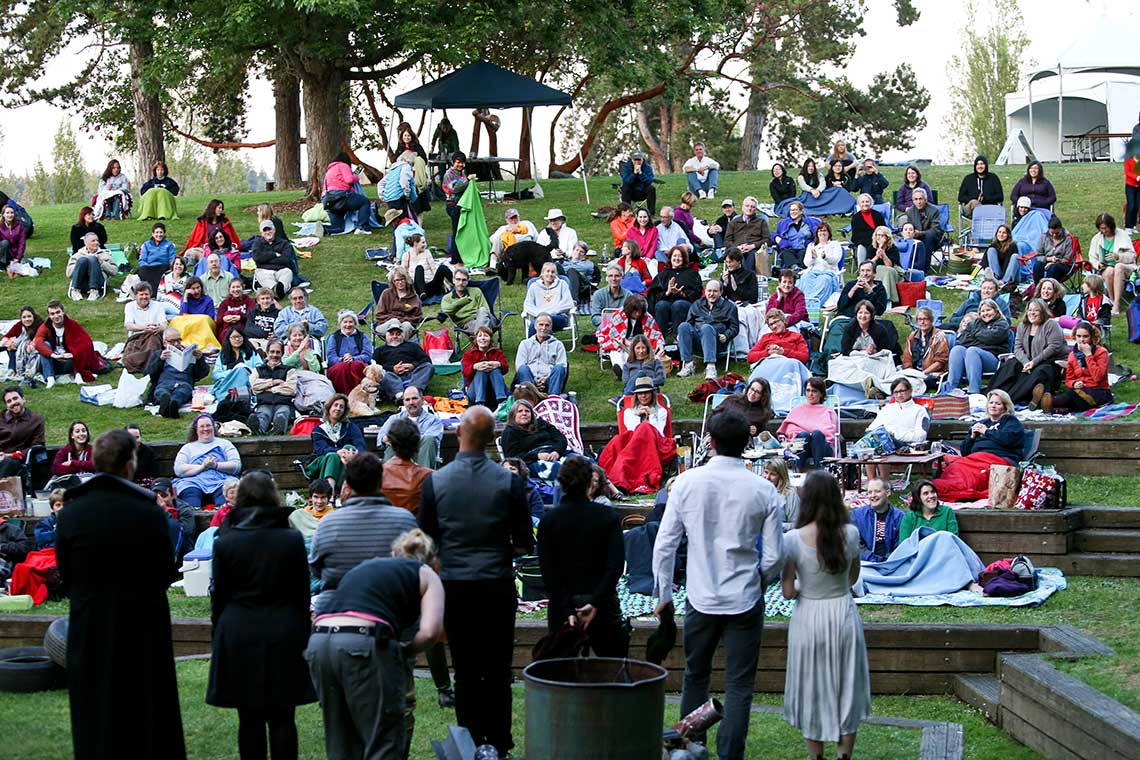 Wooden O Returns To Provide Seattle With Free Shakespeare in the Park When We Need It Most