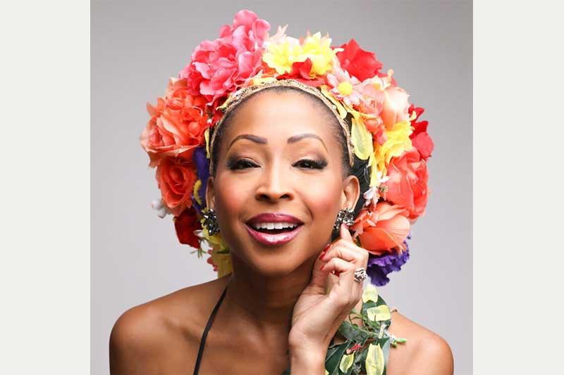 Broadway singer N'Kenge