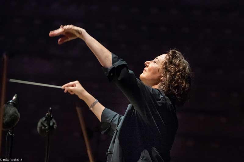 Conductor Nathalie Stutzmann