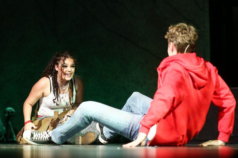 """Production image of """"Jasper in Deadland"""", a production of Village Theatre's summer independent program."""
