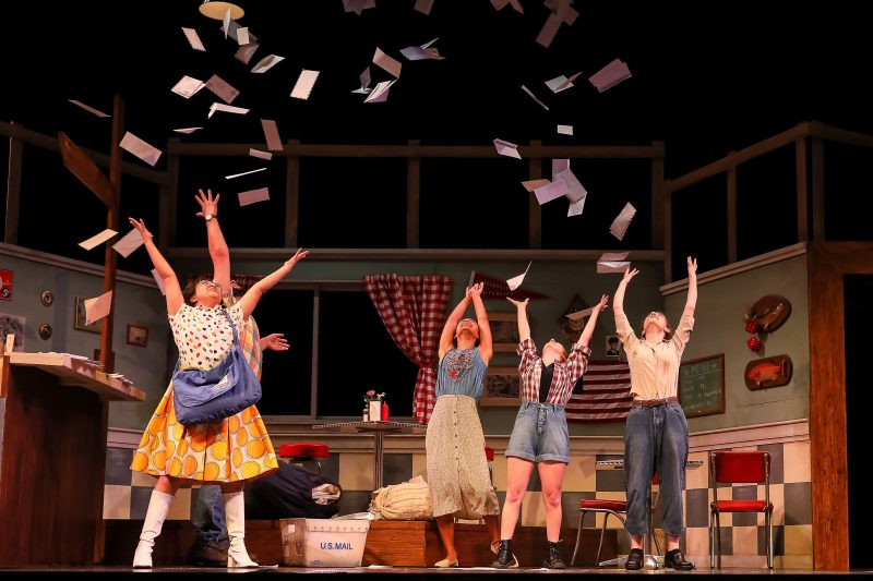 """Production image of """"Spitfire Grill"""", a production of Village Theatre's summer independent program."""