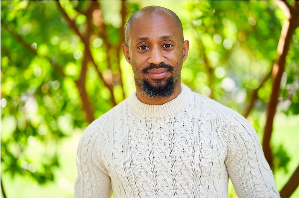 """Lamar Legend, the host and producer of """"Under This Light,"""" Seattle Shakespeare Company's new podcast series."""