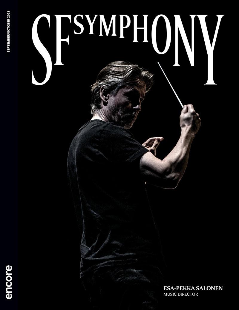 SF Symphony Sept/Oct 2021 cover