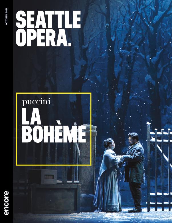 La Boheme 2021 Seattle Opera Encore